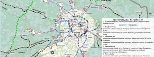 Стройкомплекс представил схему развития железных дорог